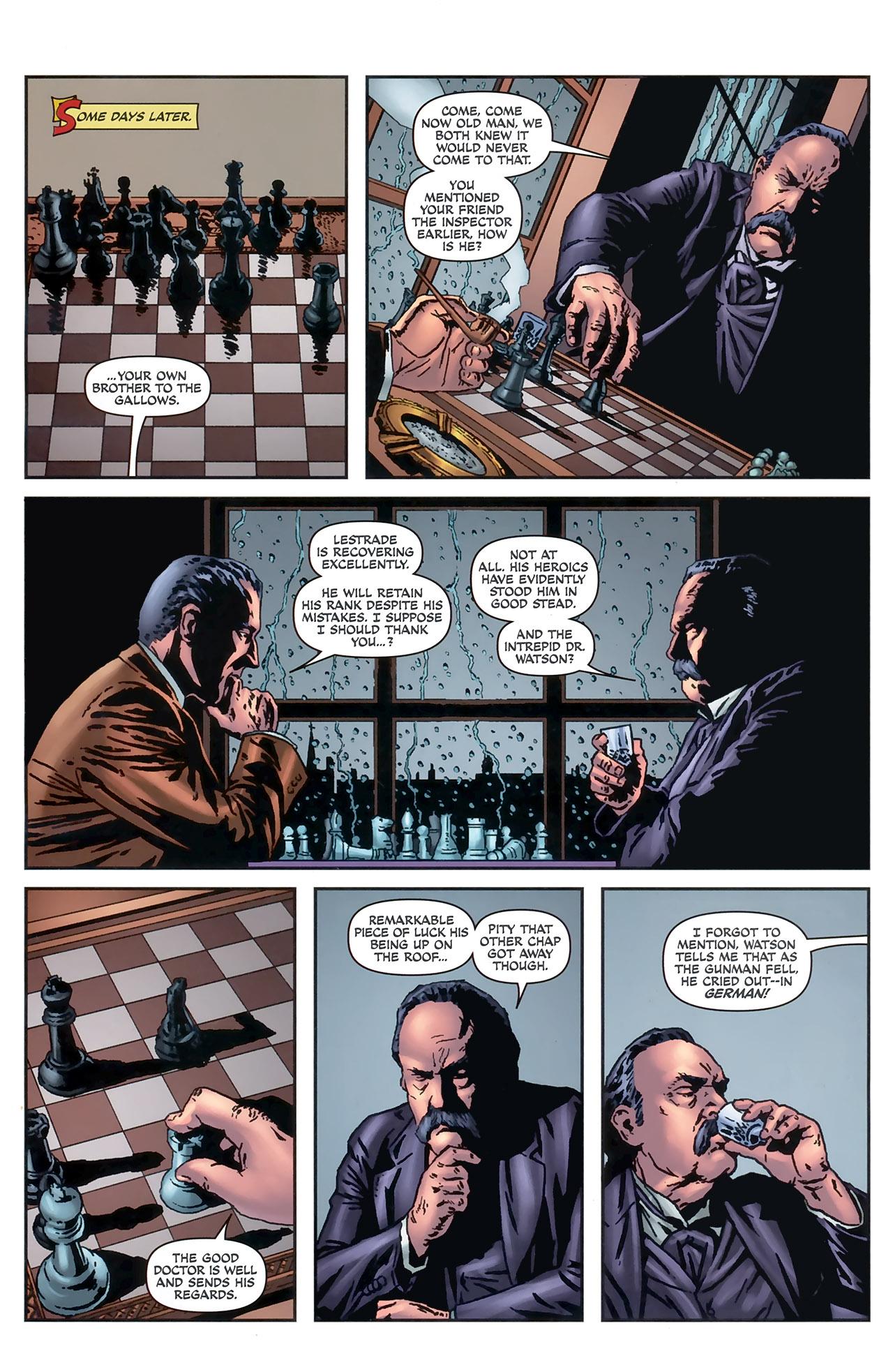 Read online Sherlock Holmes (2009) comic -  Issue #5 - 22