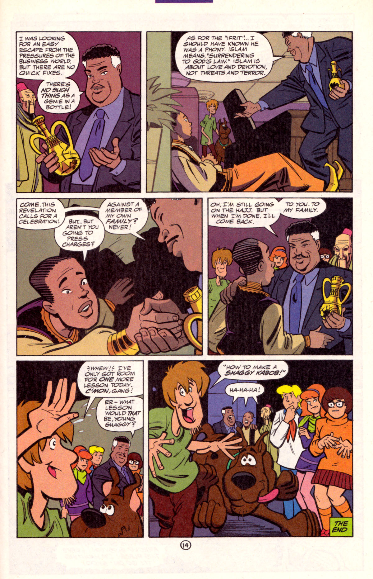 Read online Scooby-Doo (1997) comic -  Issue #11 - 15