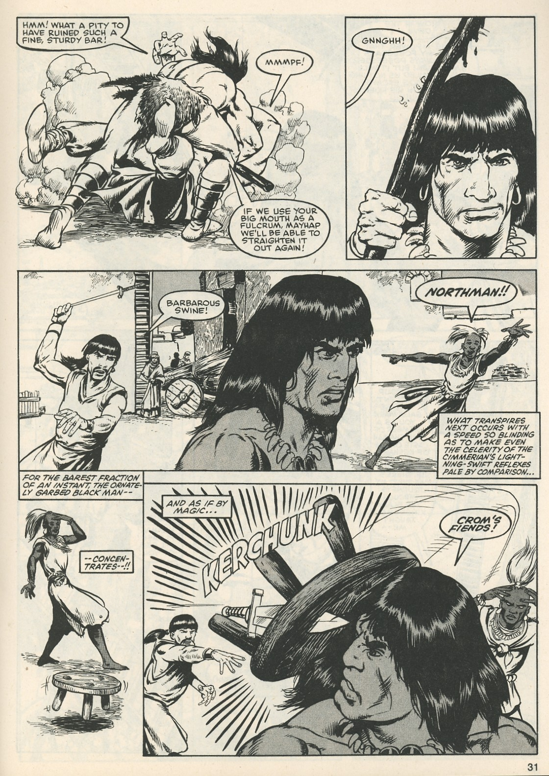 The Savage Sword Of Conan Issue #111 #112 - English 32