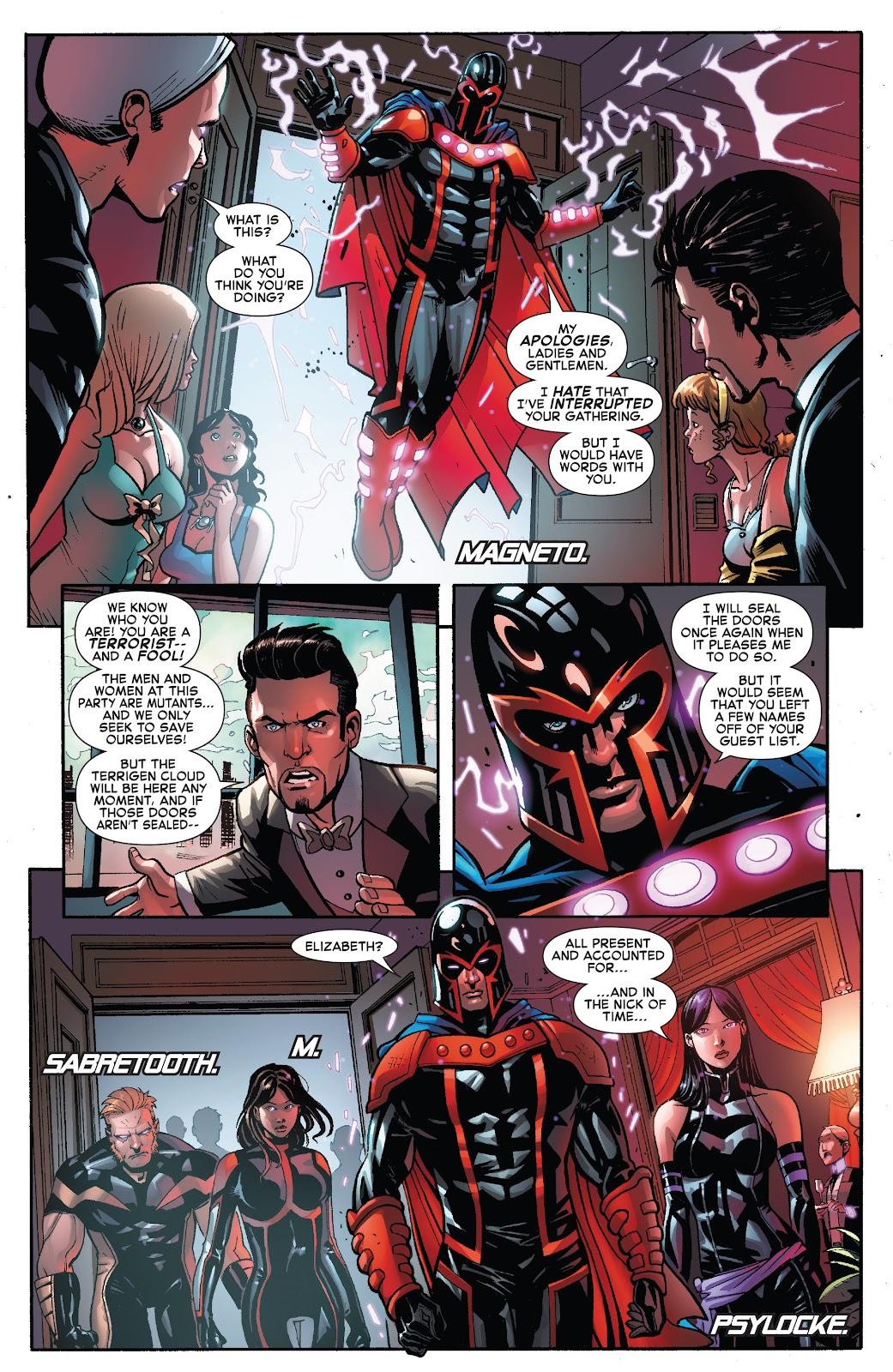 Civil War II: X-Men Issue #1 #1 - English 8