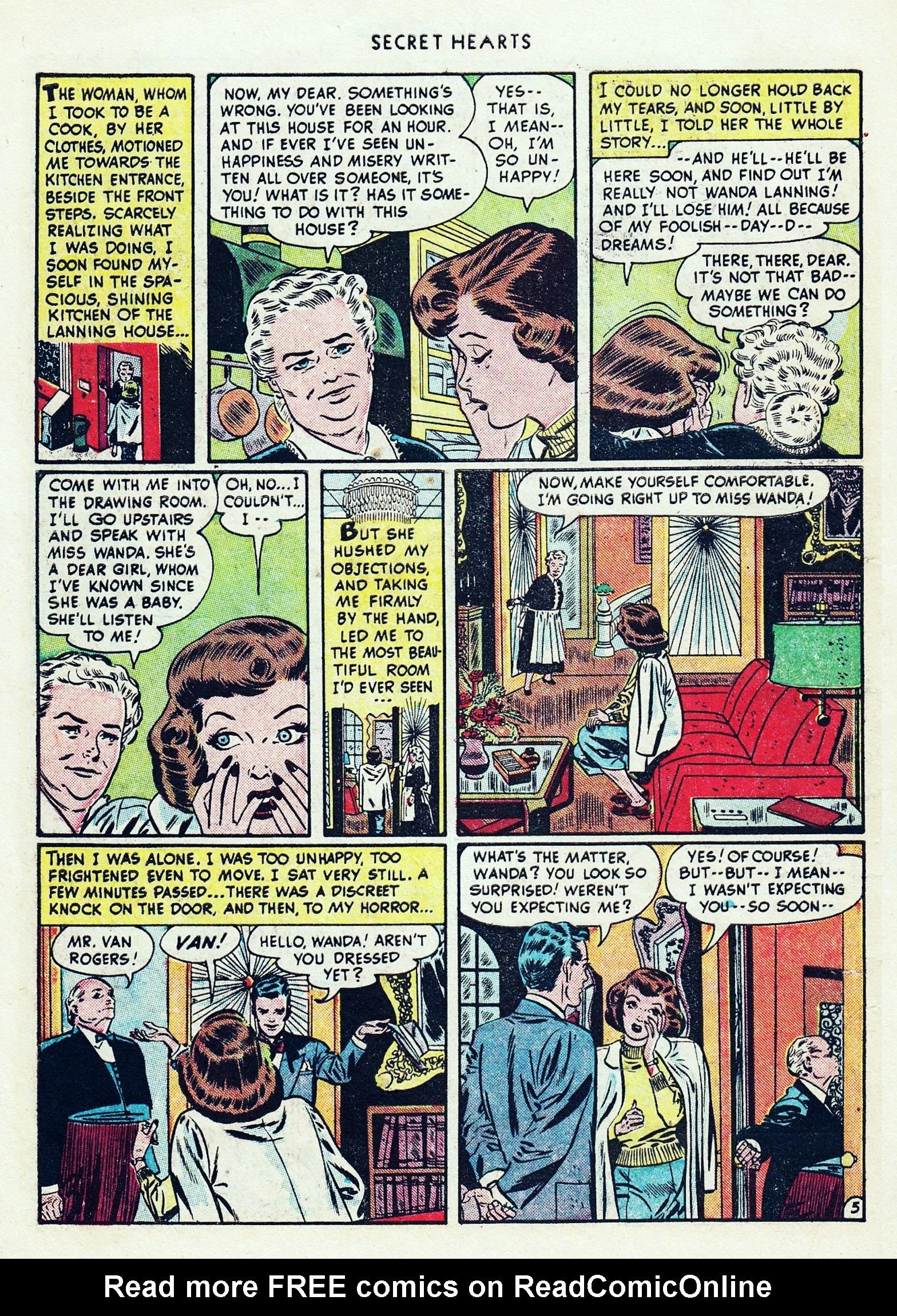 Read online Secret Hearts comic -  Issue #1 - 8