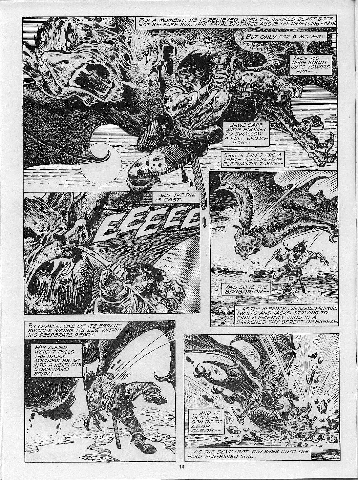The Savage Sword Of Conan Issue #200 #201 - English 16