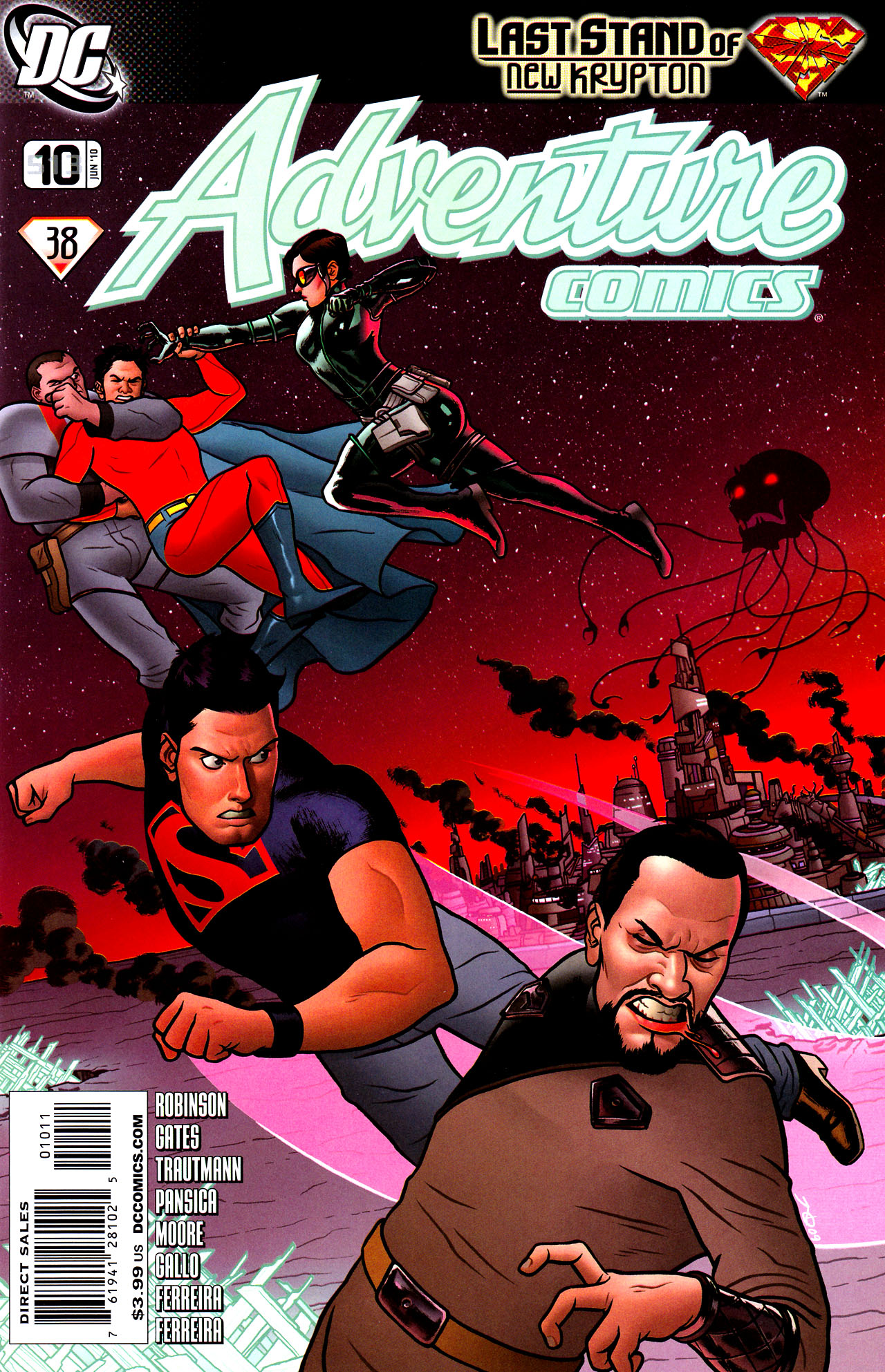 Read online Adventure Comics (2009) comic -  Issue #10 - 1