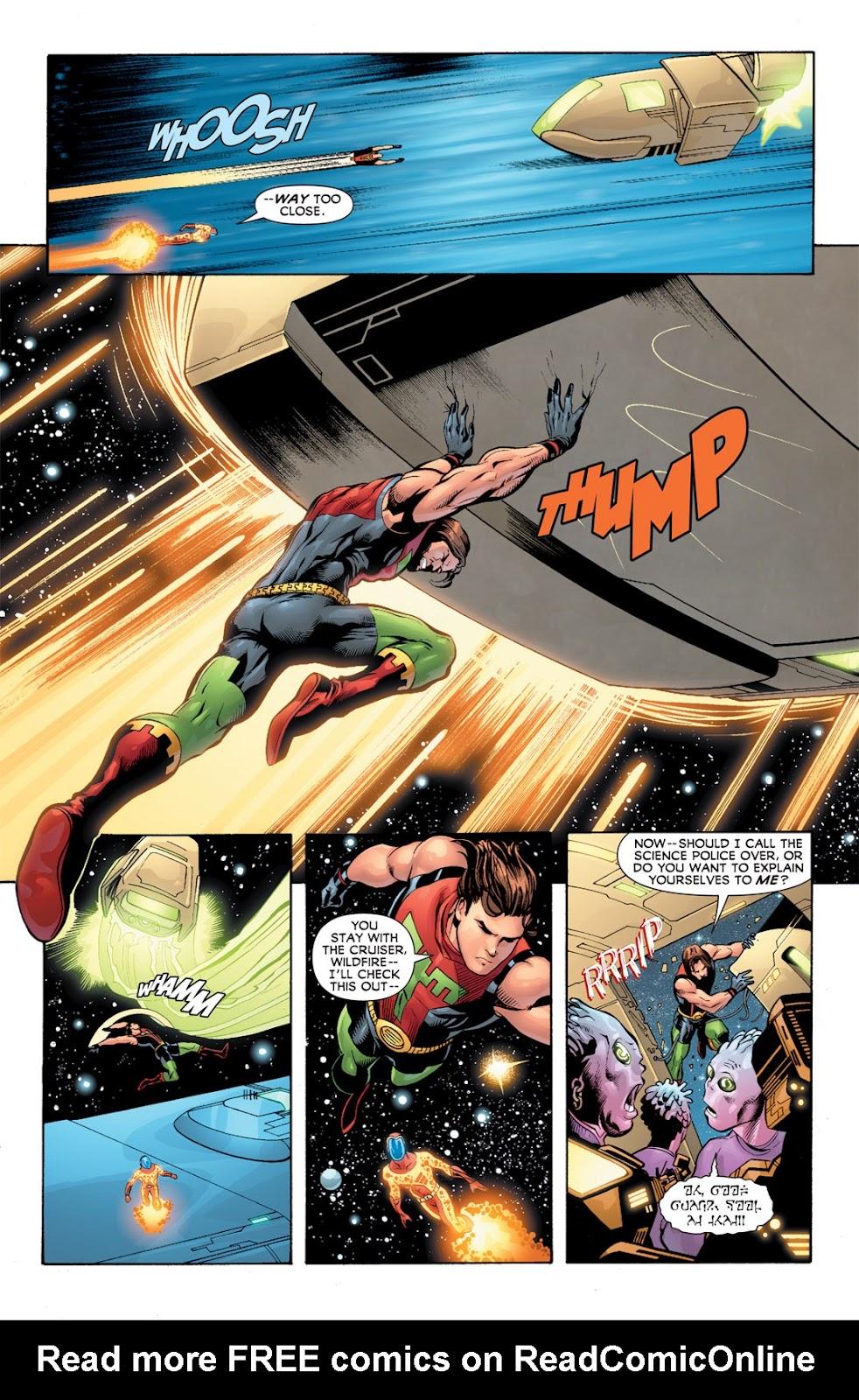 Legion of Super-Heroes (2010) Issue #10 #11 - English 4