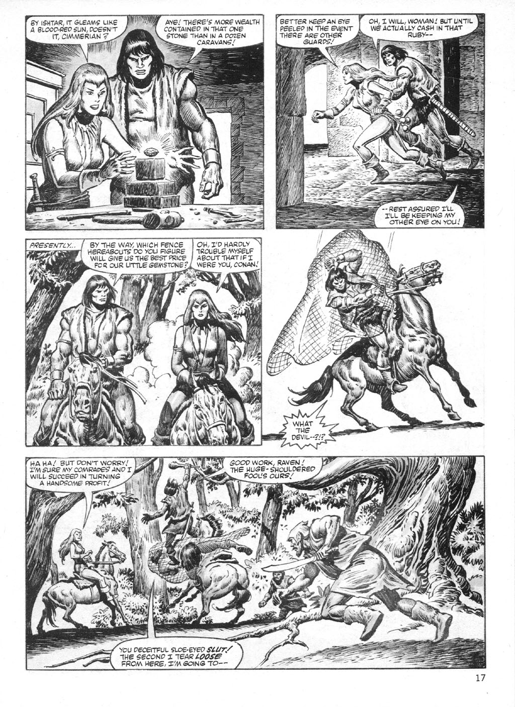 The Savage Sword Of Conan Issue #95 #96 - English 17