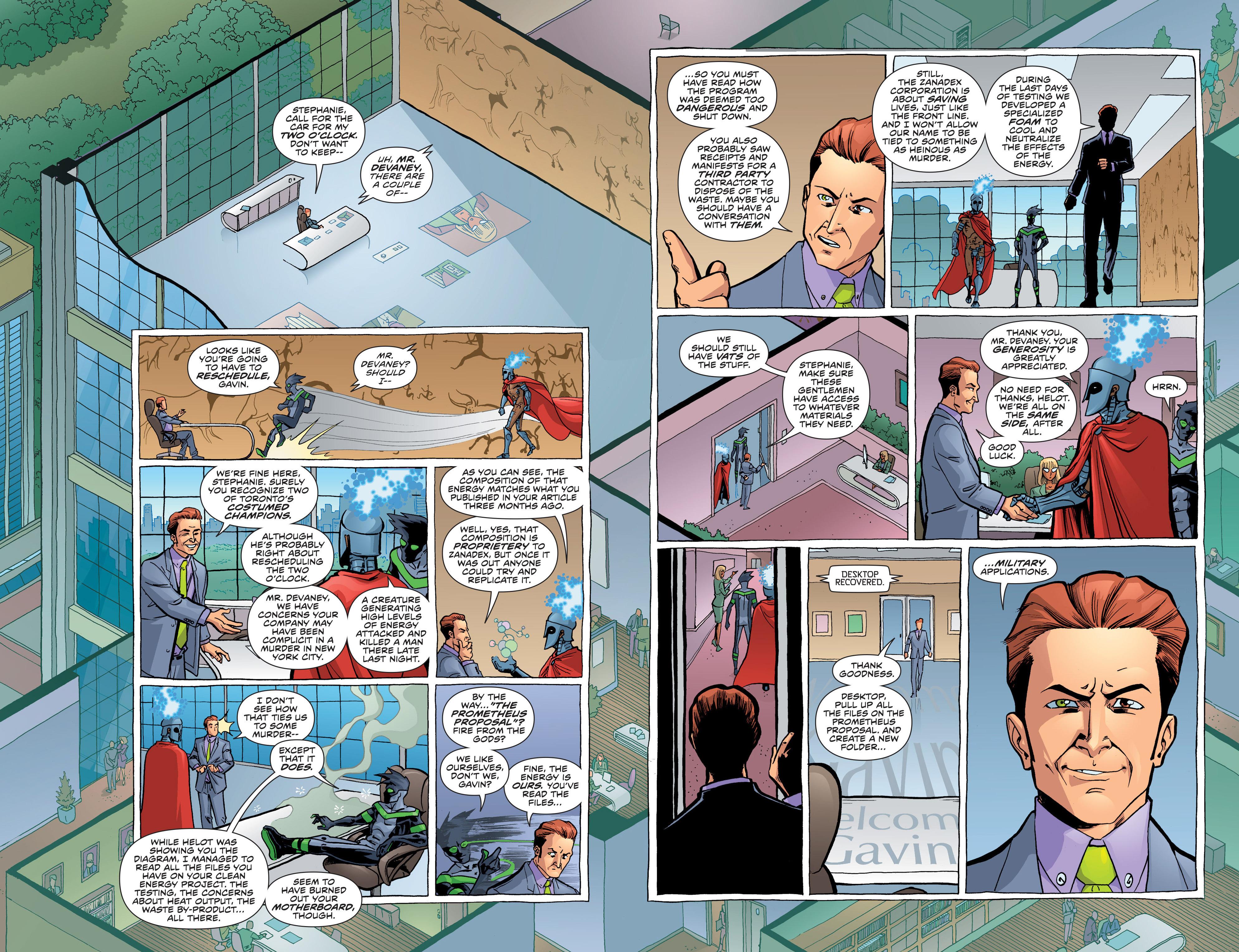 Read online Secret Identities comic -  Issue #3 - 13