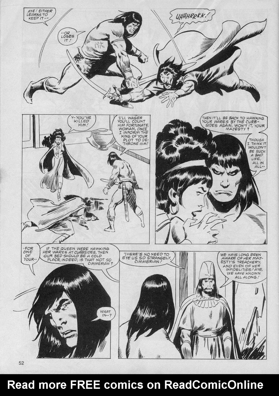 The Savage Sword Of Conan Issue #61 #62 - English 52