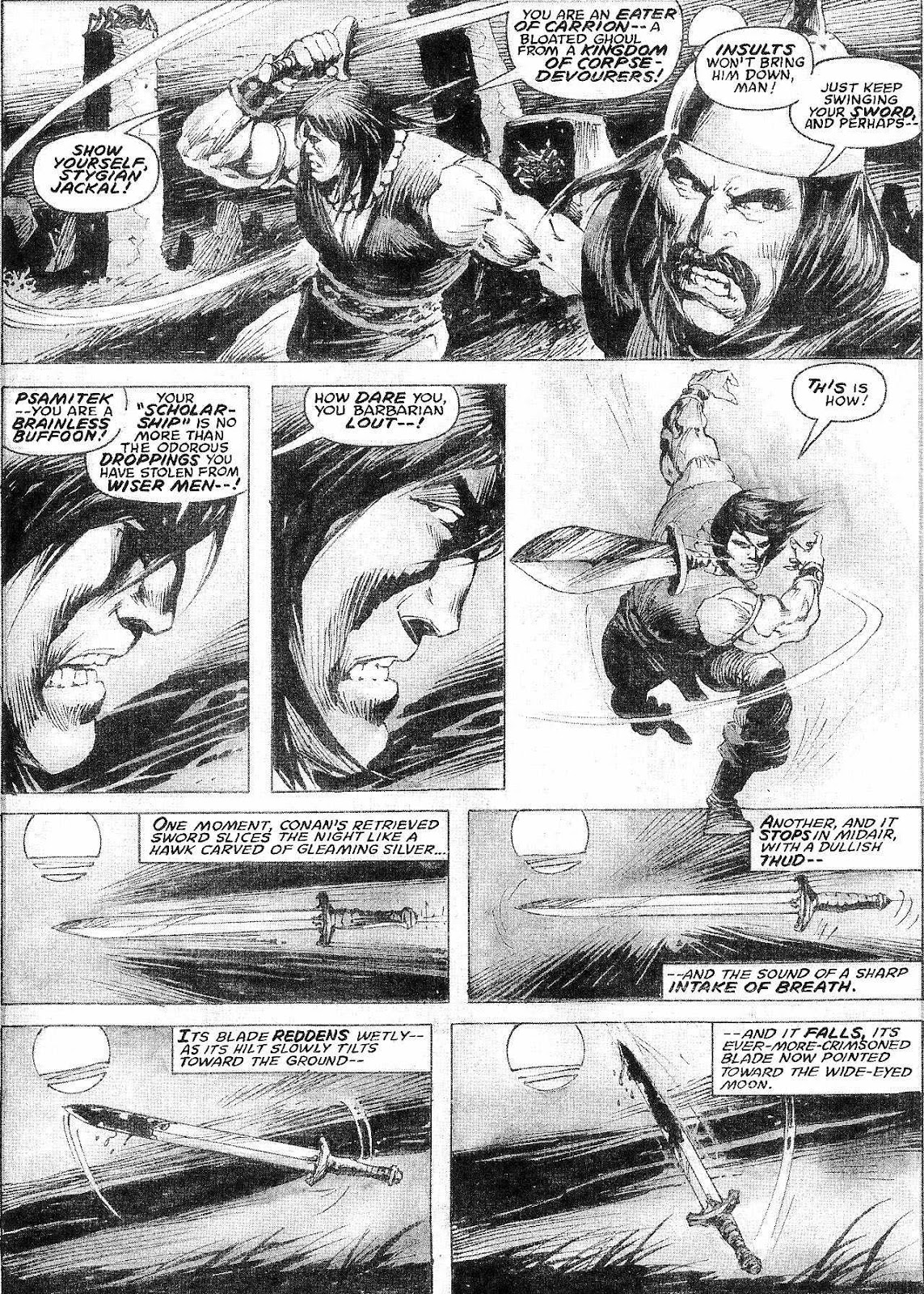 The Savage Sword Of Conan Issue #210 #211 - English 10