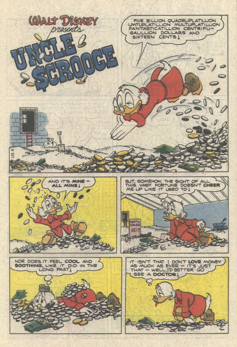 Uncle Scrooge (1953) Issue #222 #222 - English 3