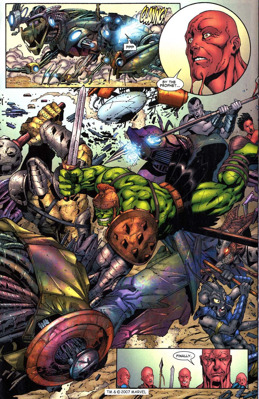 Read online The Incredible Hulk (2000) comic -  Issue #96 - 16
