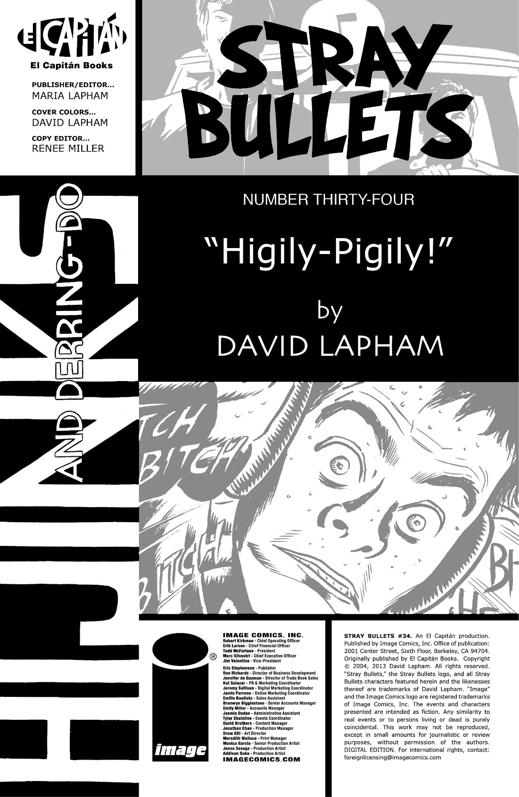 Stray Bullets Issue #34 #34 - English 2