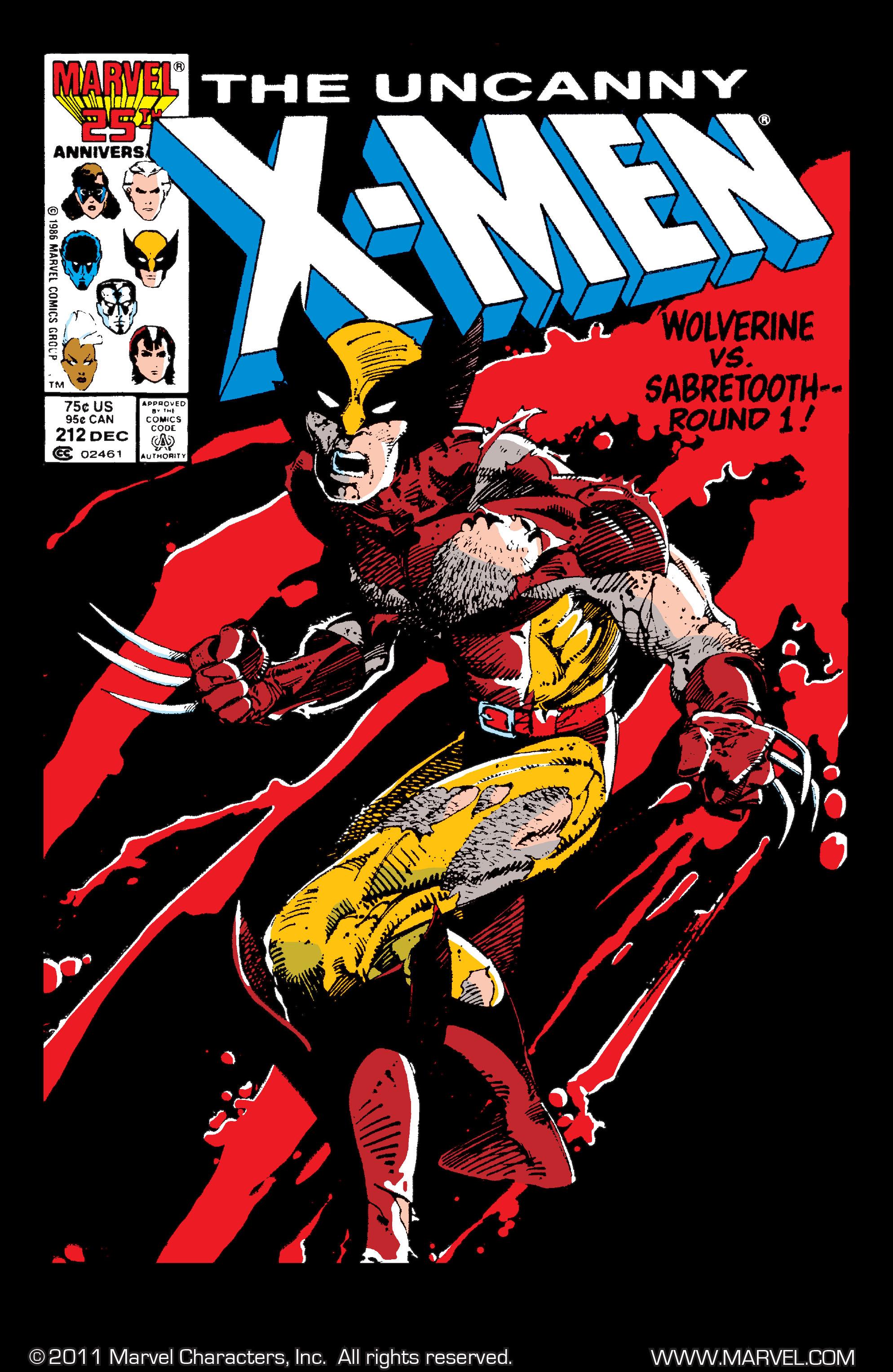 Uncanny X-Men (1963) 212 Page 1