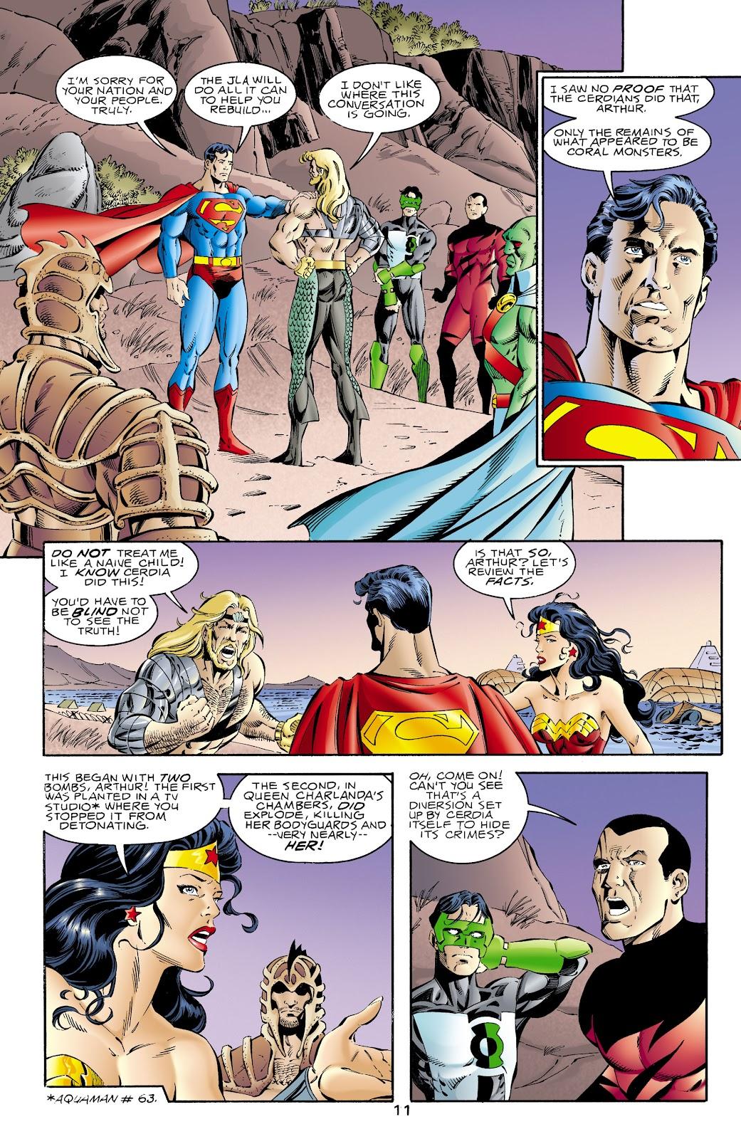 Aquaman (1994) Issue #66 #72 - English 11