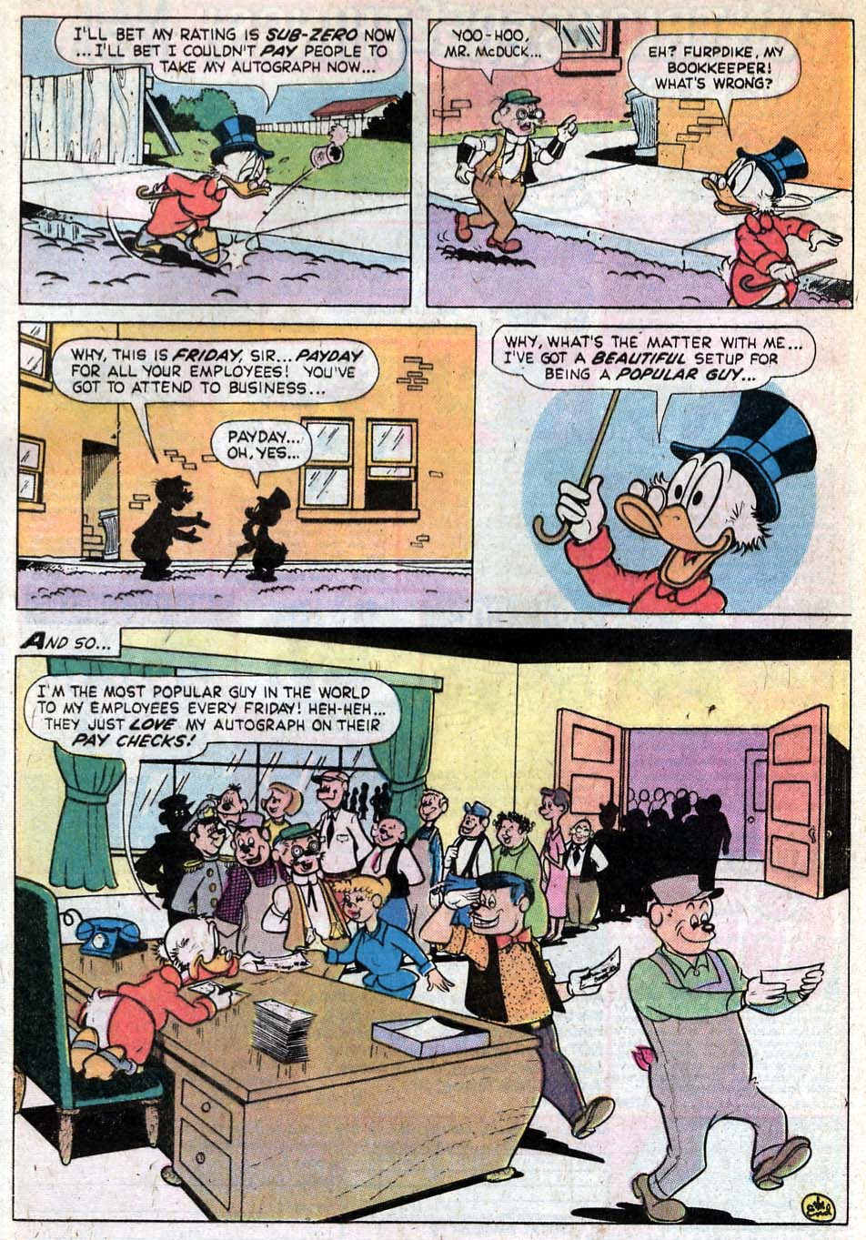 Uncle Scrooge (1953) Issue #140 #140 - English 33