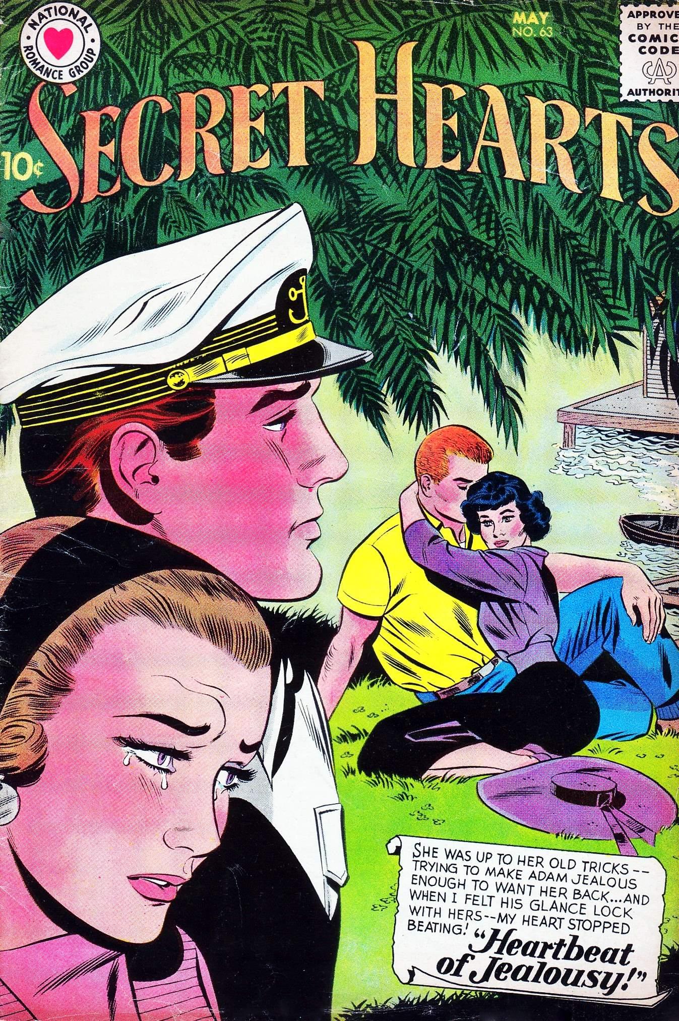 Read online Secret Hearts comic -  Issue #63 - 1