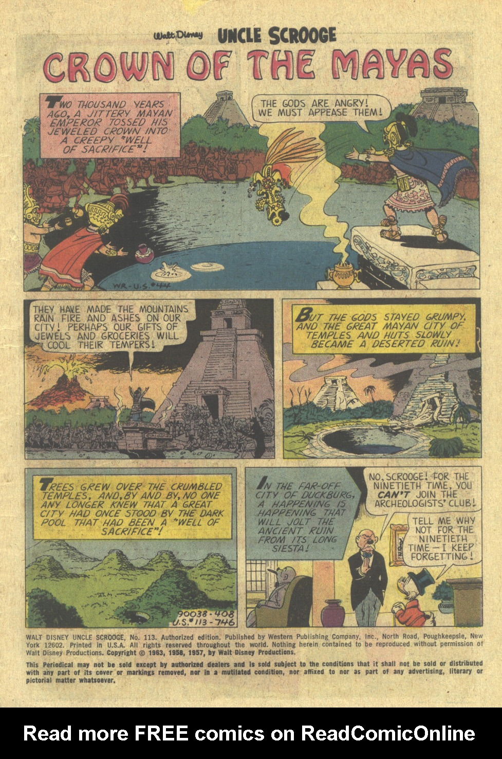 Uncle Scrooge (1953) Issue #113 #113 - English 3