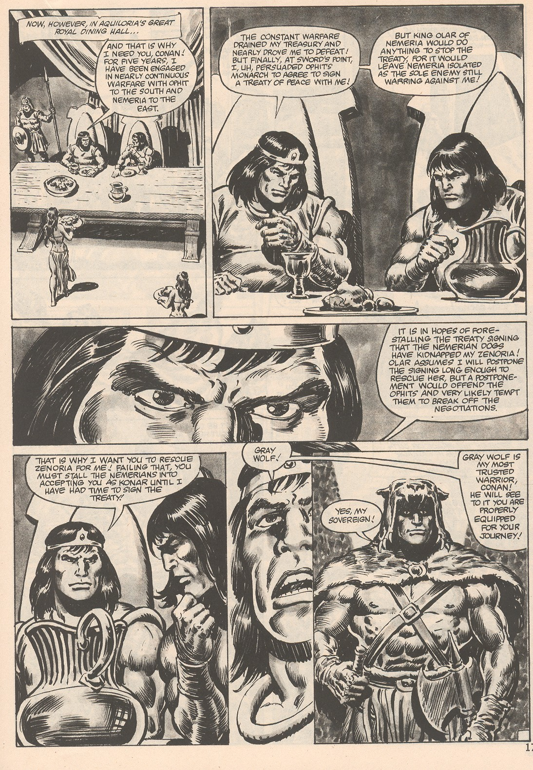 The Savage Sword Of Conan Issue #104 #105 - English 17