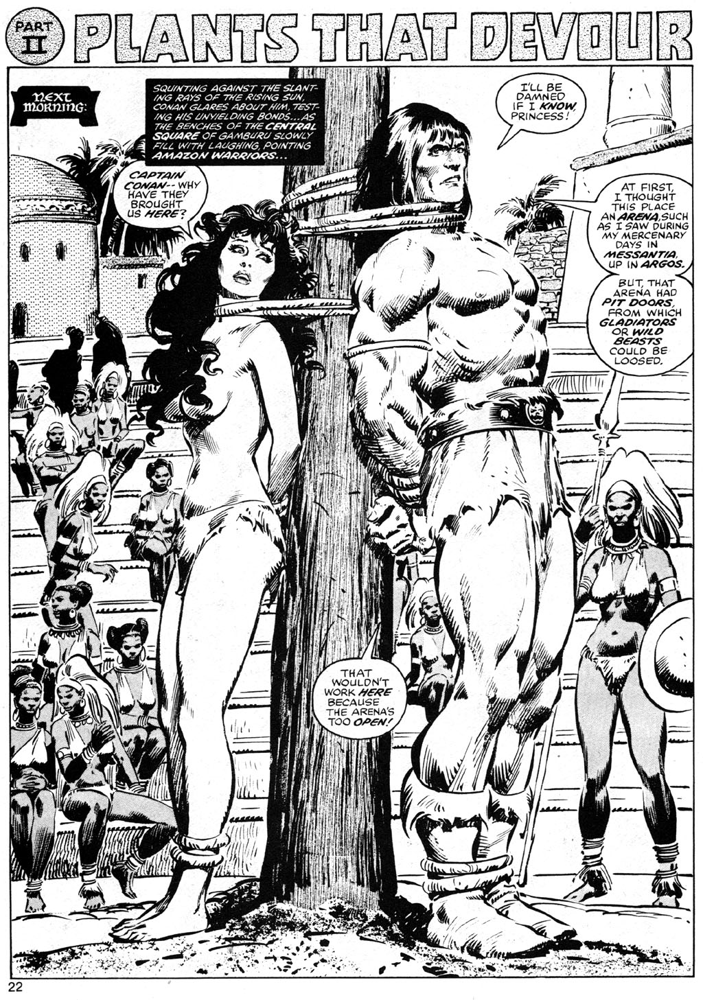 The Savage Sword Of Conan Issue #42 #43 - English 22