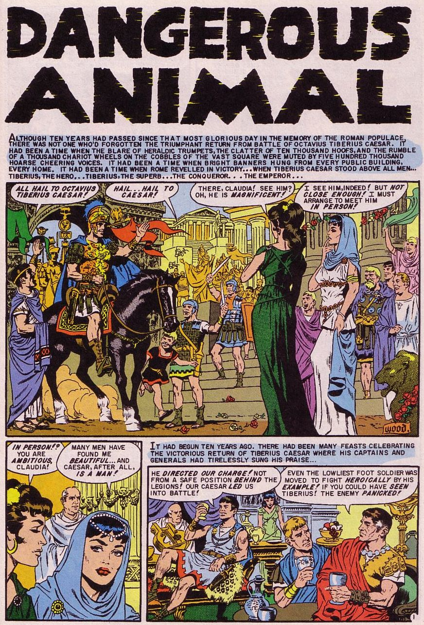 Valor (1955) issue 5 - Page 1