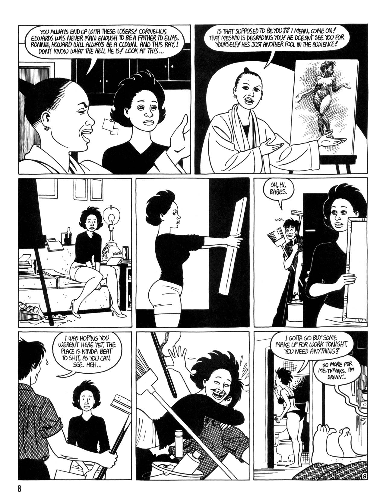 Love and Rockets (1982) #35 #35 - English 10