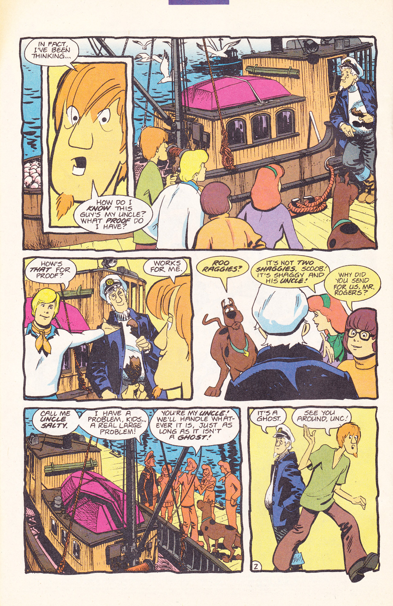 Read online Scooby-Doo (1995) comic -  Issue #17 - 4