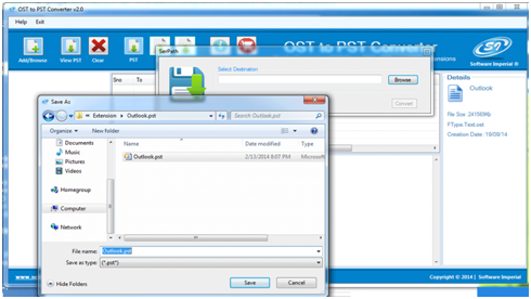 Microsoft Exchange OST Recovery Tool to Convert OST to PST