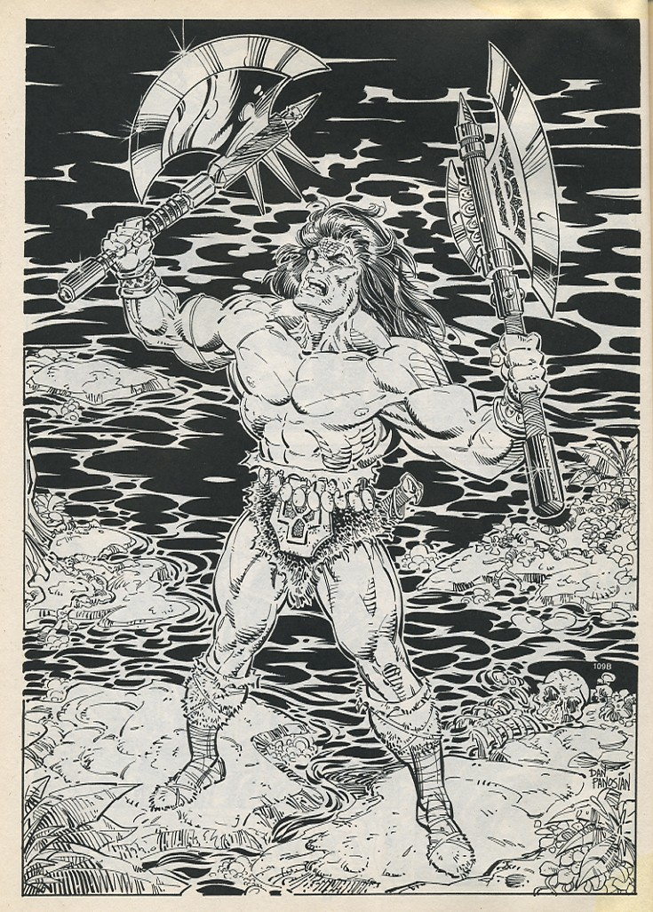 The Savage Sword Of Conan Issue #194 #195 - English 48