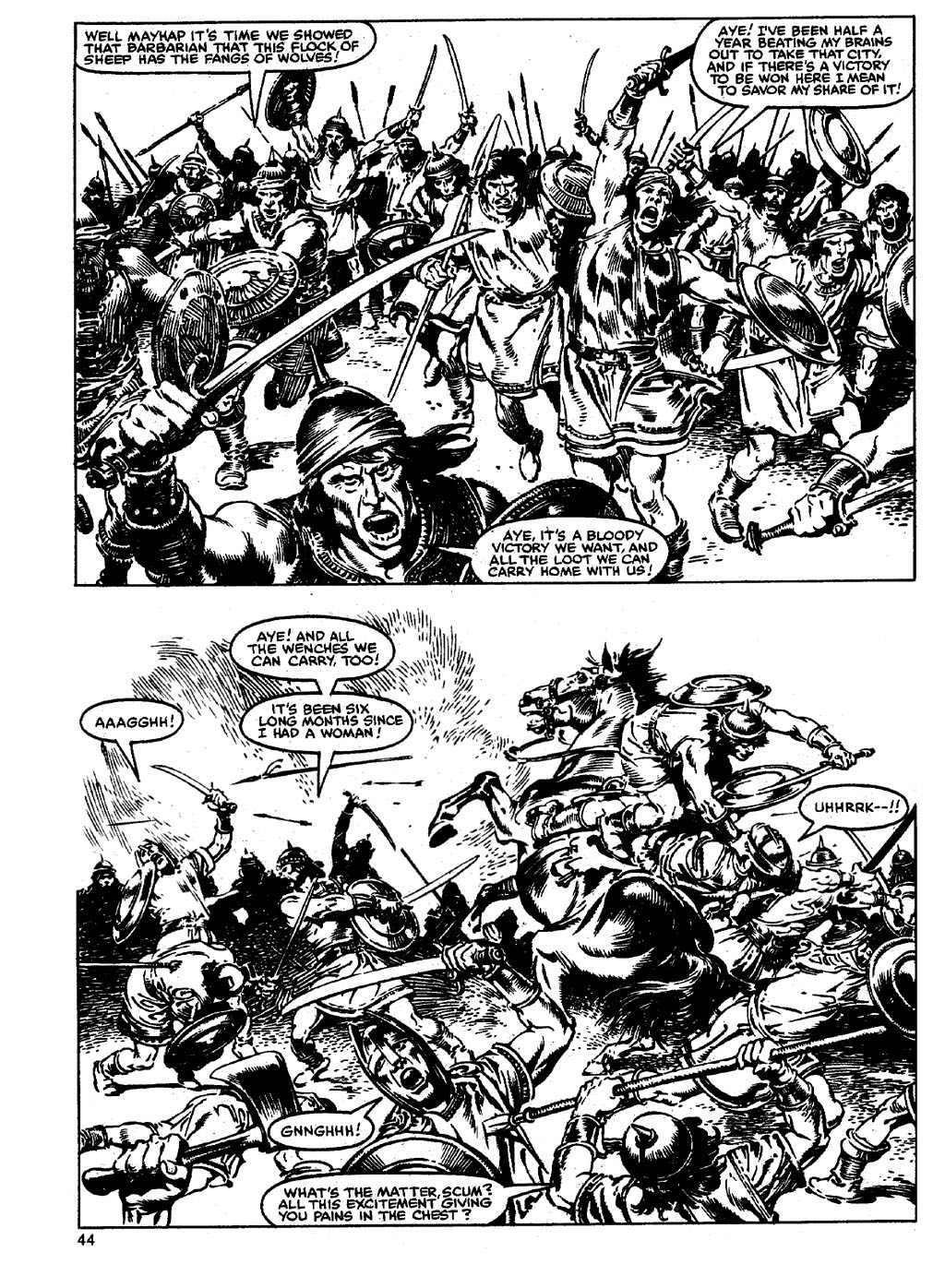 The Savage Sword Of Conan Issue #90 #91 - English 43