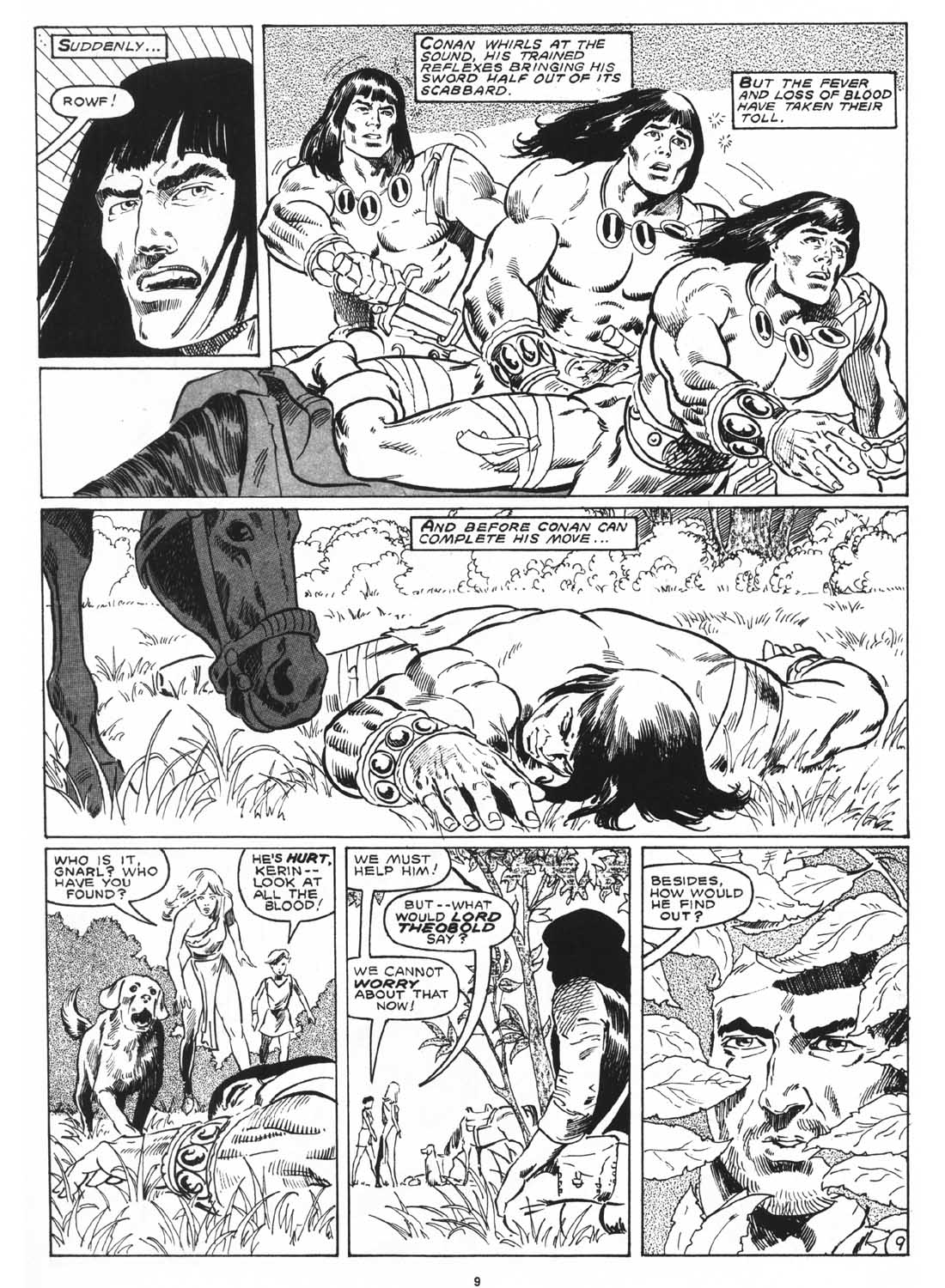 The Savage Sword Of Conan Issue #171 #172 - English 11