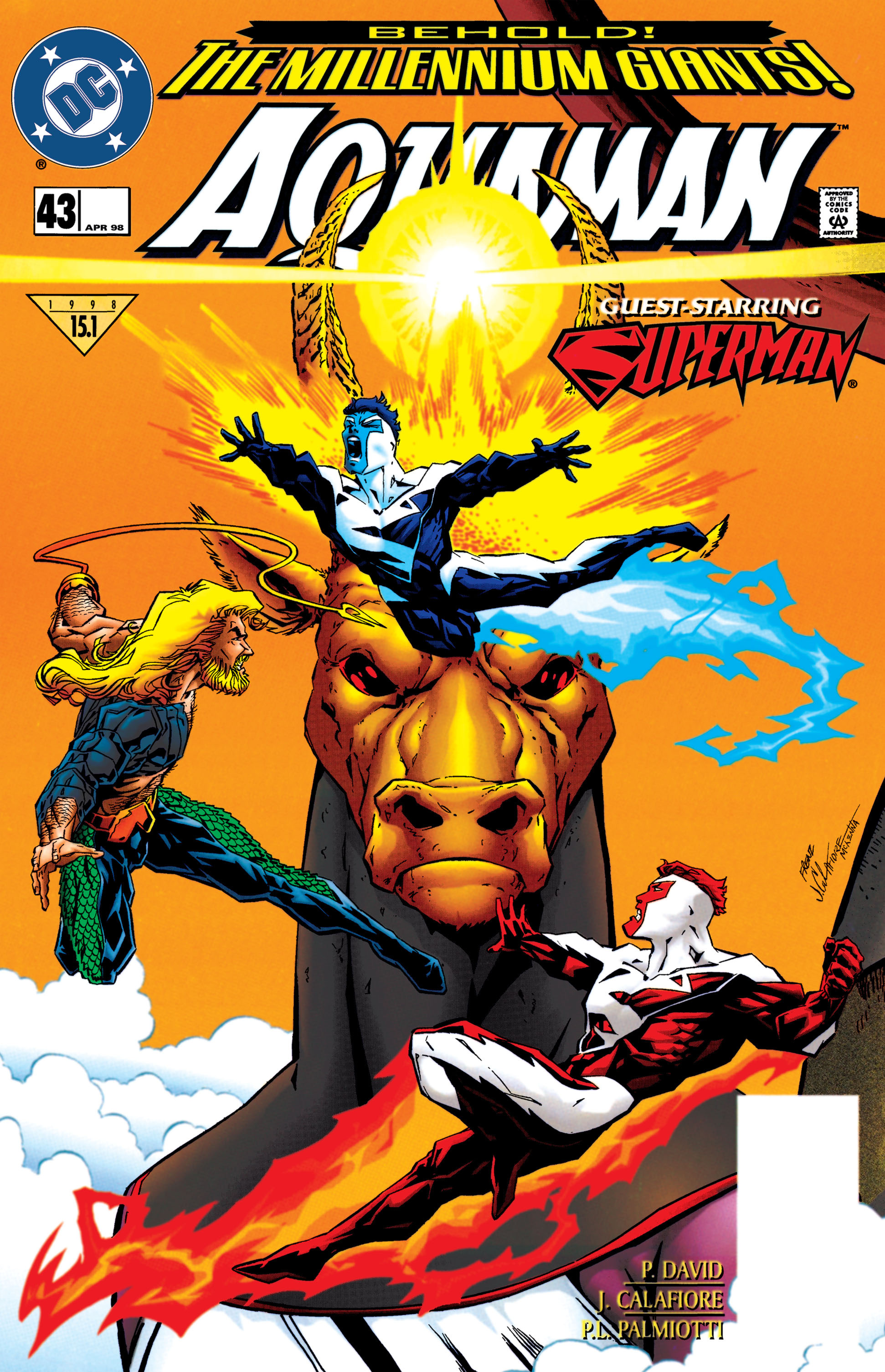 Aquaman (1994) 43 Page 1