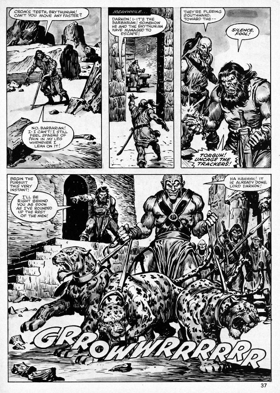 The Savage Sword Of Conan Issue #77 #78 - English 37