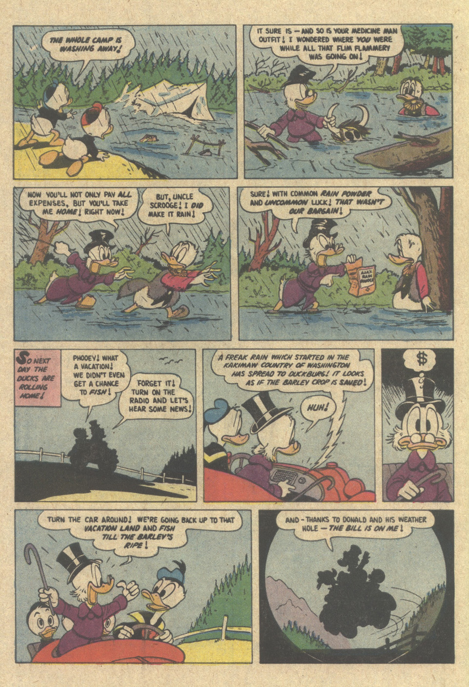 Uncle Scrooge (1953) Issue #220 #220 - English 34