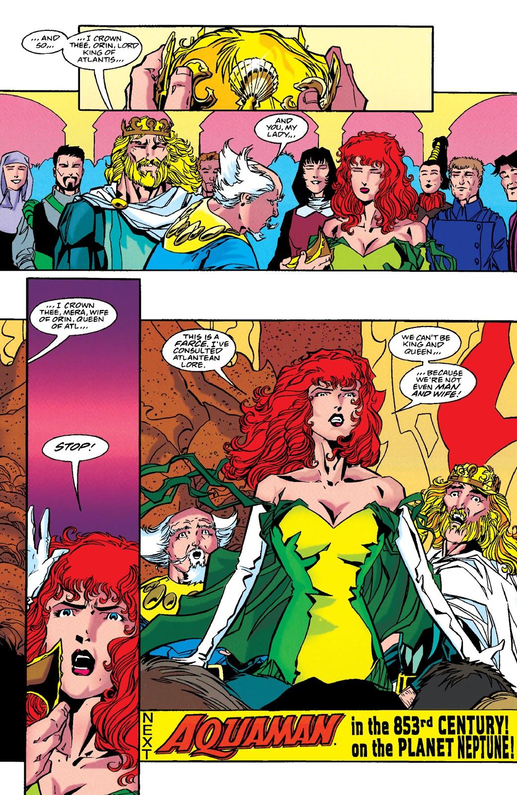 Aquaman (1994) Issue #49 #55 - English 23