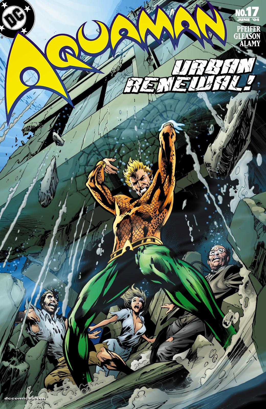 Aquaman (2003) Issue #17 #17 - English 1