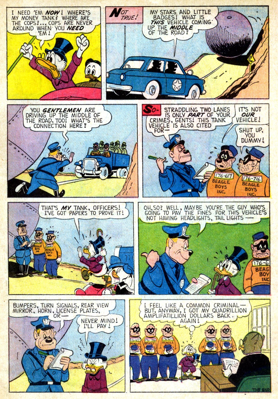 Uncle Scrooge (1953) Issue #39 #39 - English 32
