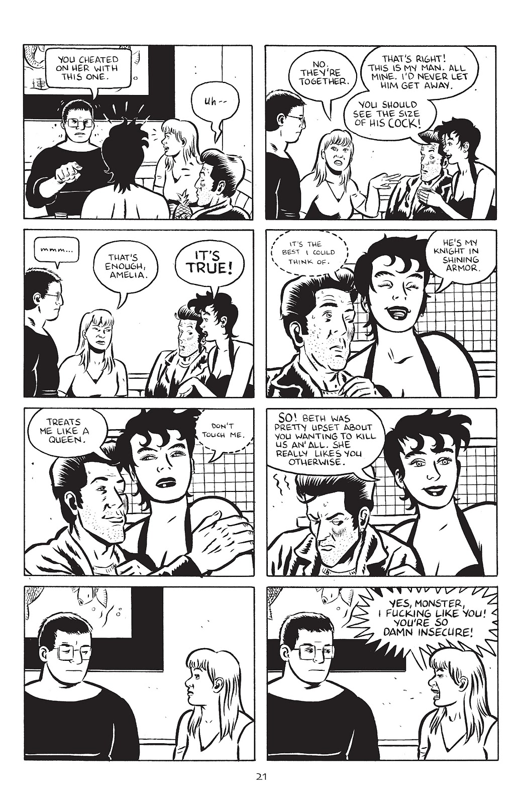 Stray Bullets Issue #24 #24 - English 23