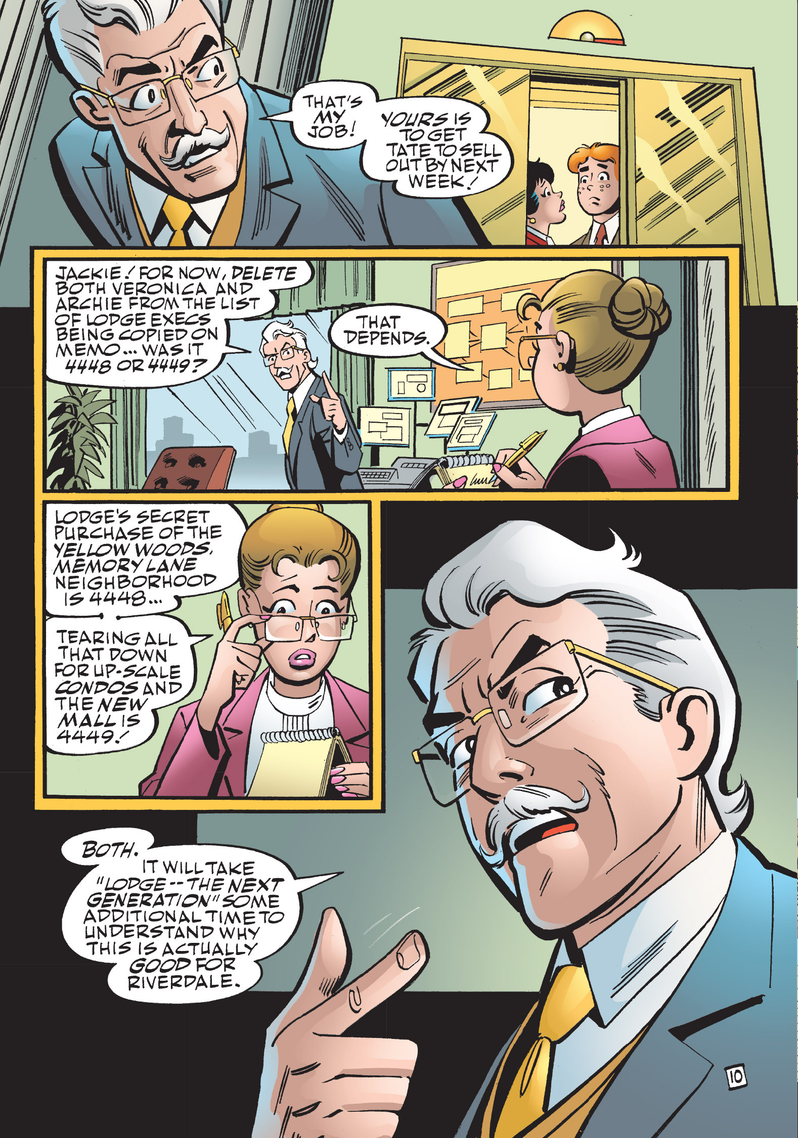 Read online The Best of Archie Comics comic -  Issue # TPB 1 (Part 2) - 153
