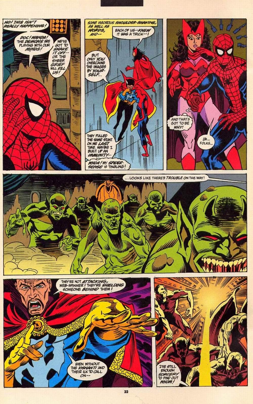 Read online Secret Defenders comic -  Issue #6 - 18