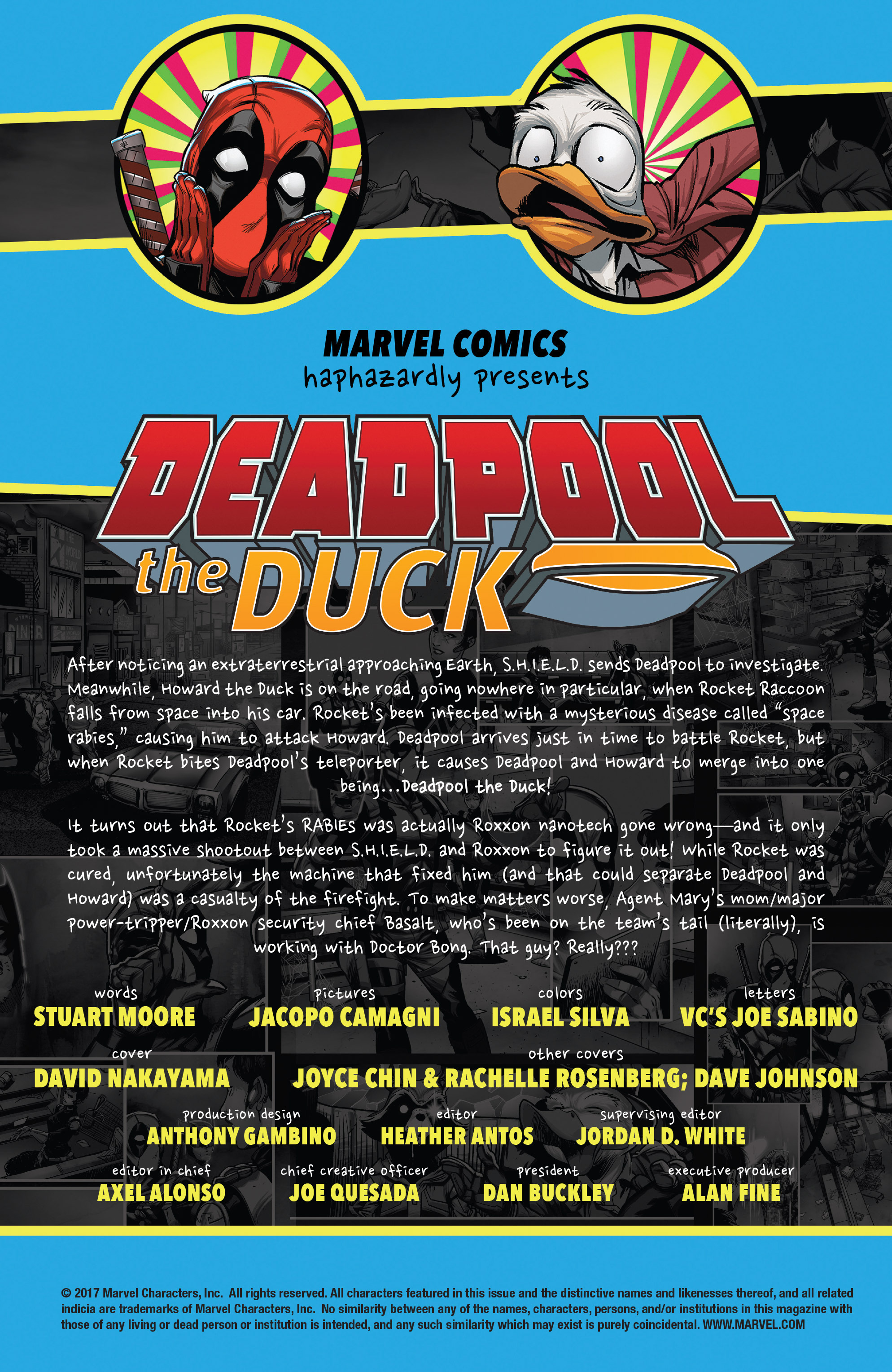 Read online Deadpool The Duck comic -  Issue #5 - 2