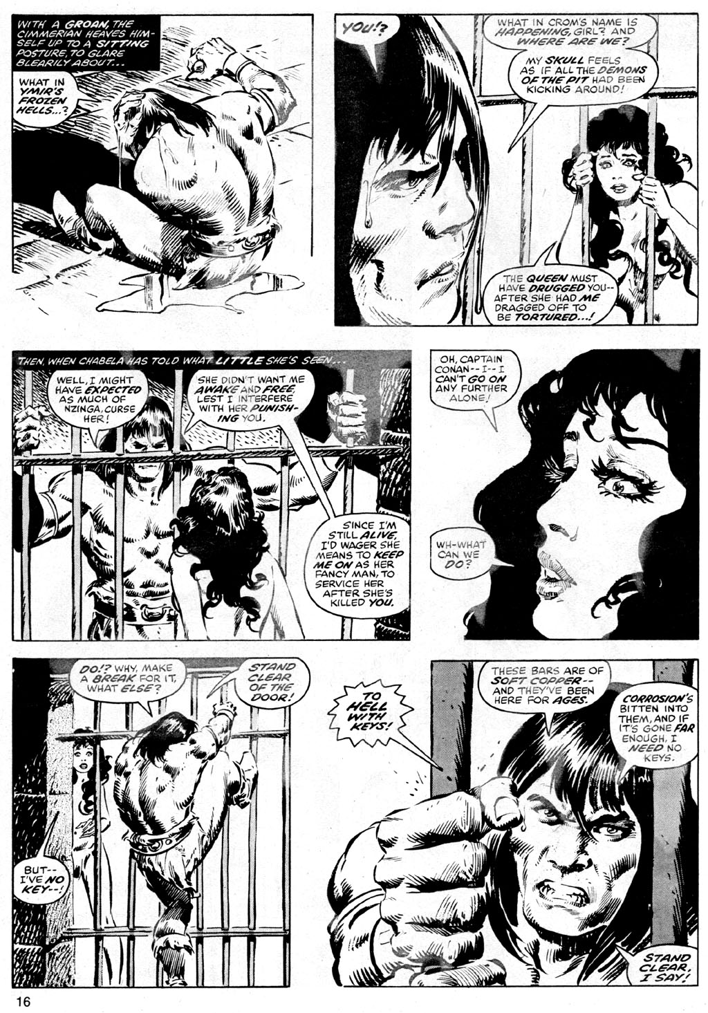 The Savage Sword Of Conan Issue #42 #43 - English 16