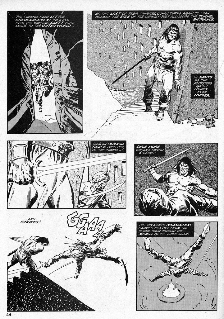 The Savage Sword Of Conan Issue #38 #39 - English 44
