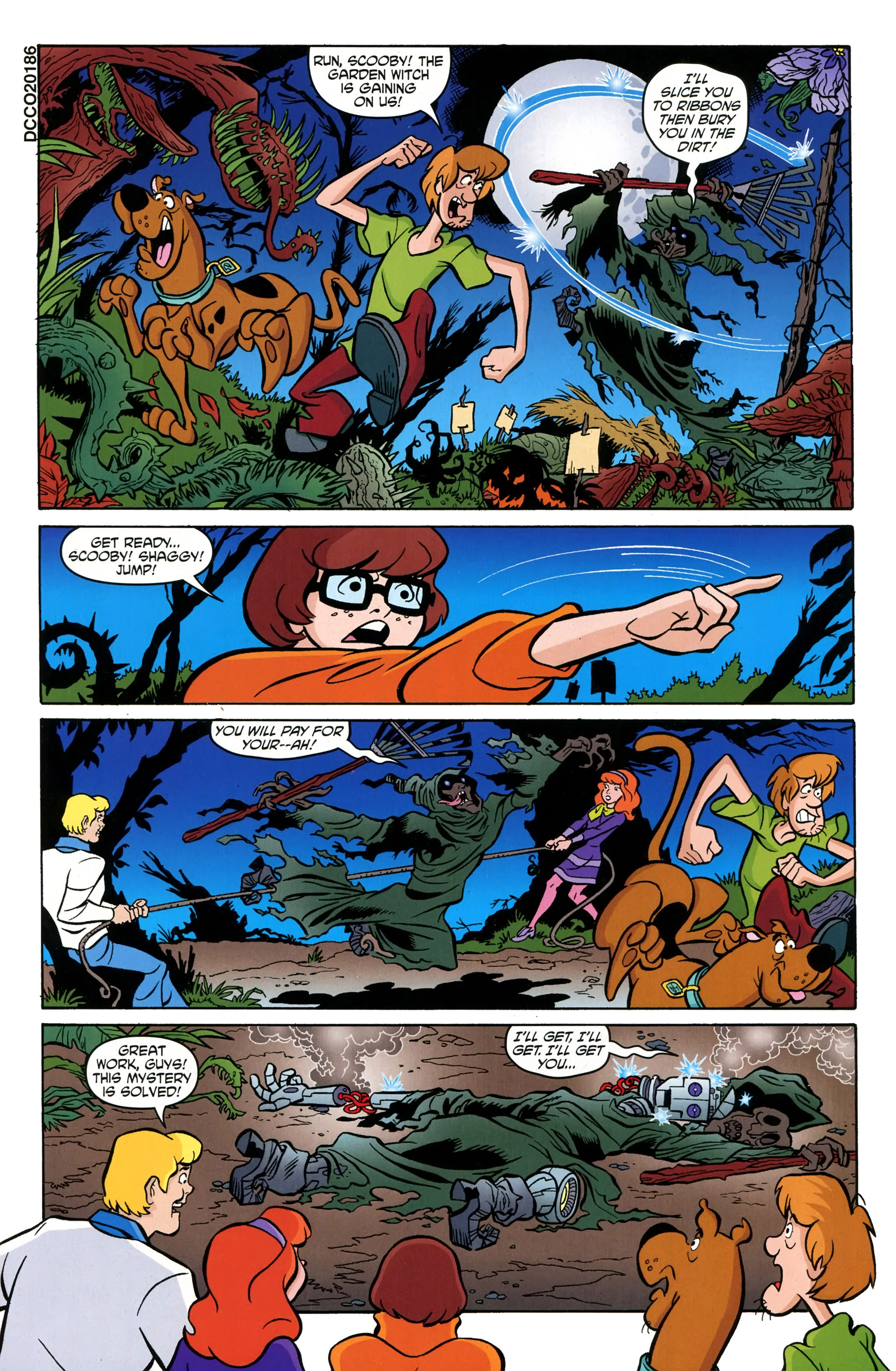 Read online Scooby-Doo: Where Are You? comic -  Issue #39 - 17