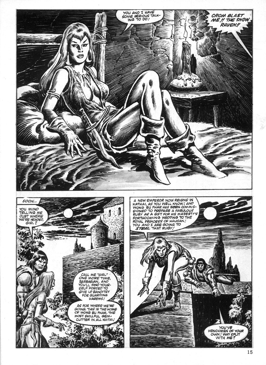 The Savage Sword Of Conan Issue #95 #96 - English 15