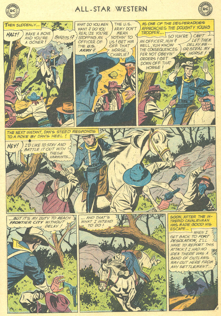 Read online All-Star Western (1951) comic -  Issue #105 - 17