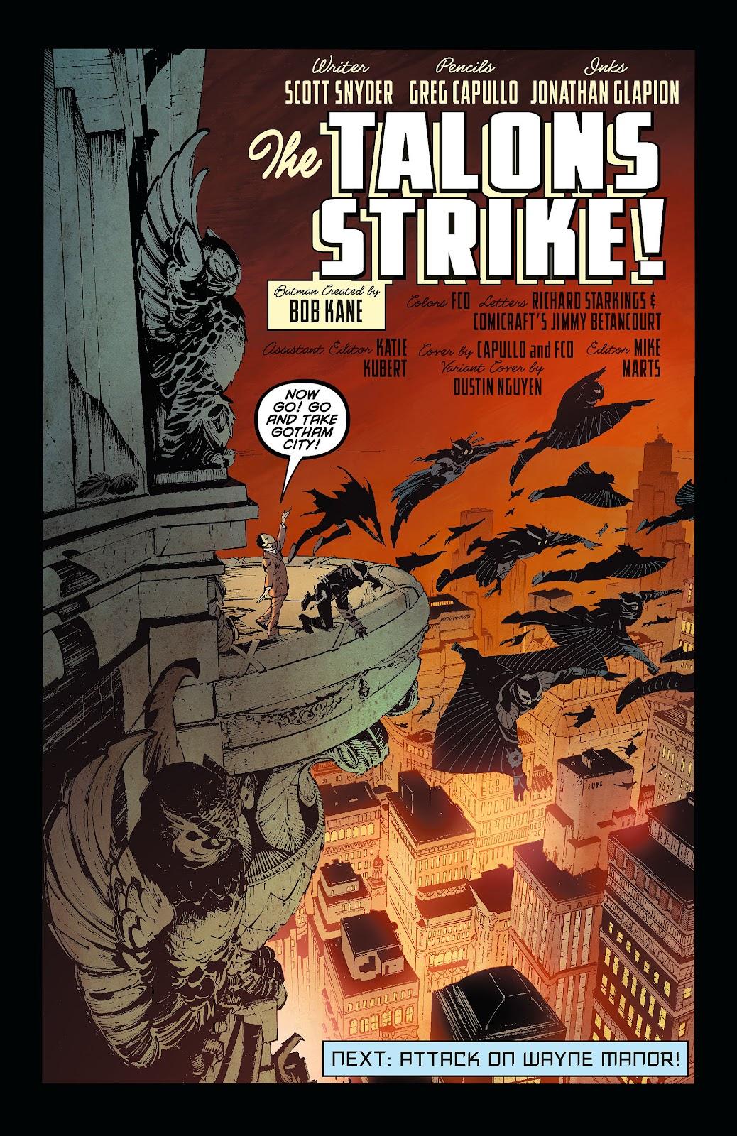 Batman (2011) Issue #7 #22 - English 24