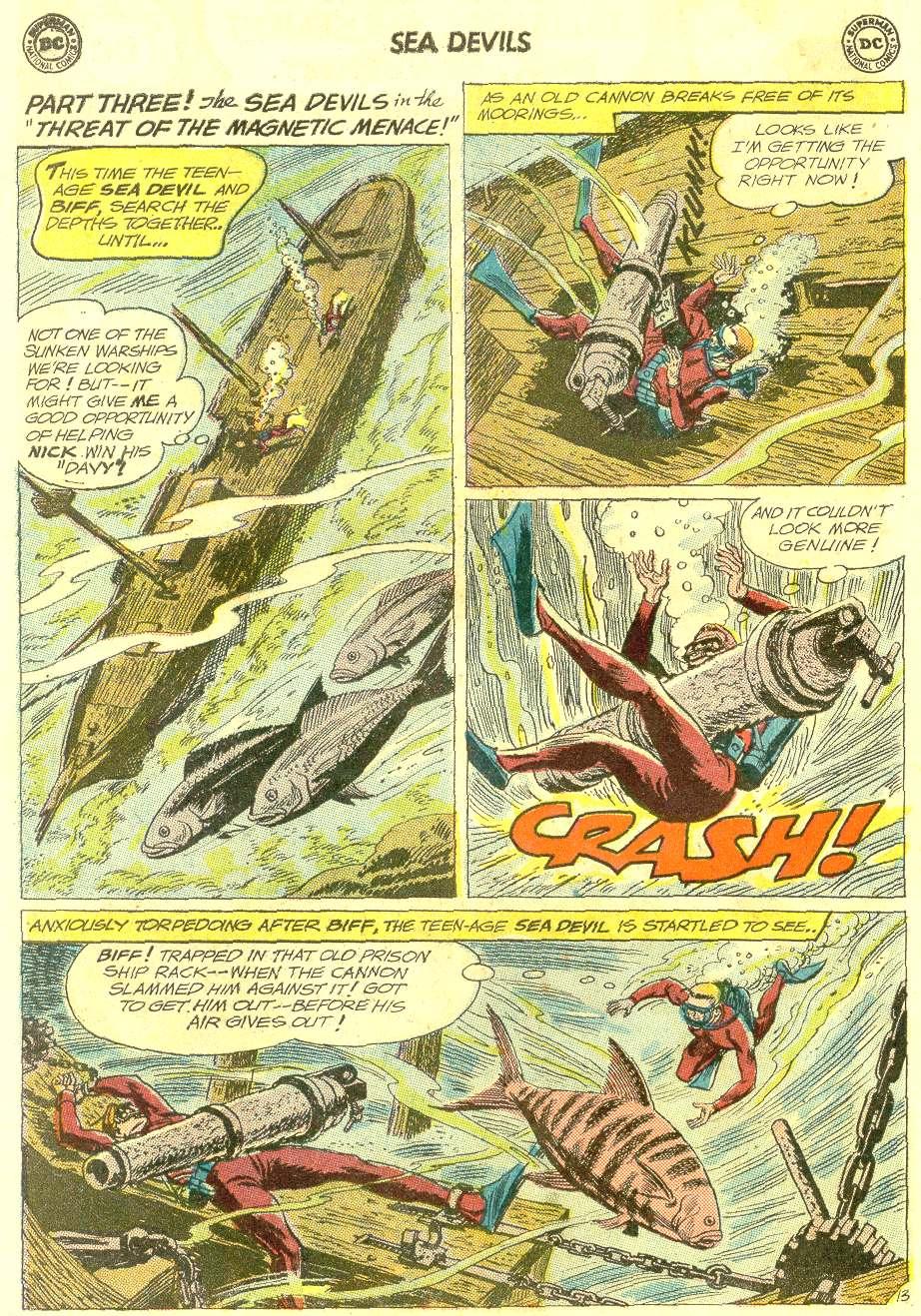 Read online Sea Devils comic -  Issue #12 - 18