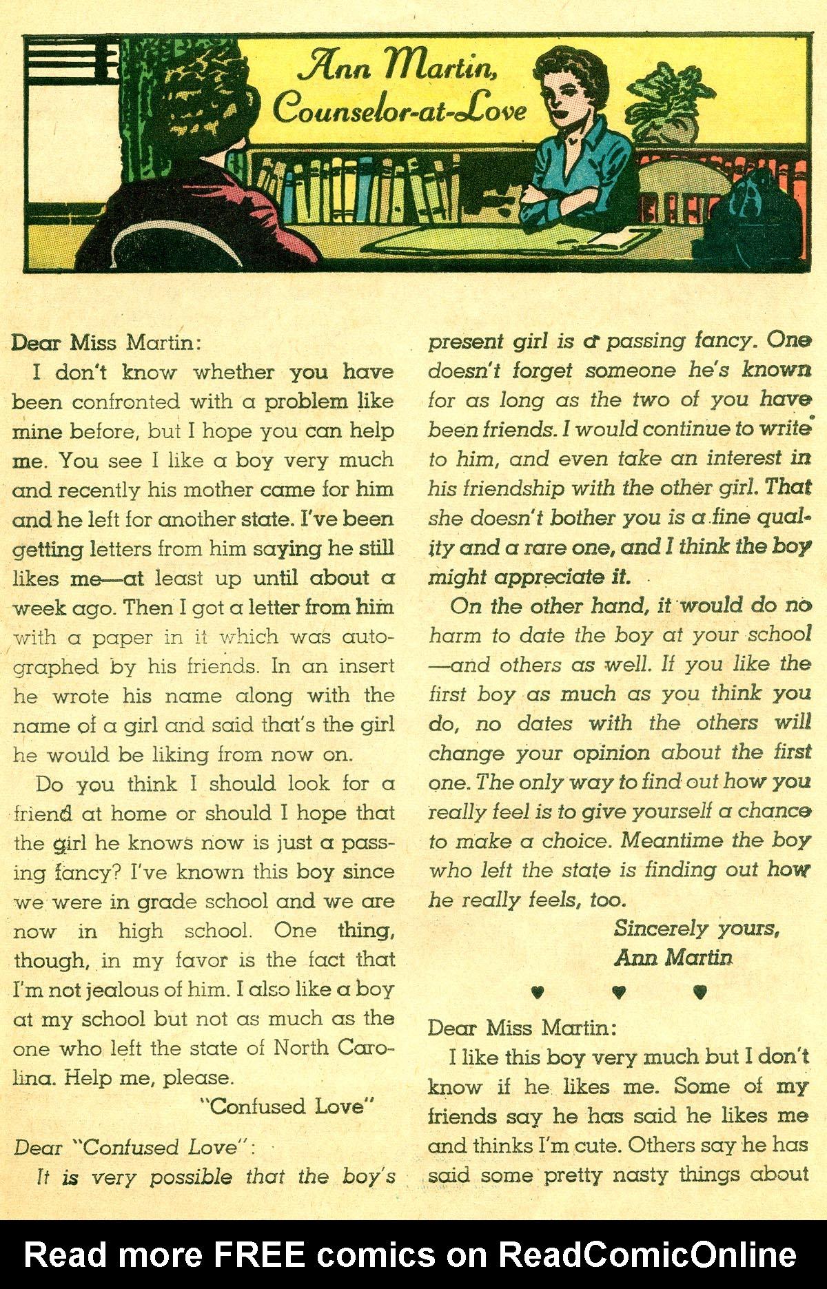 Read online Secret Hearts comic -  Issue #92 - 25