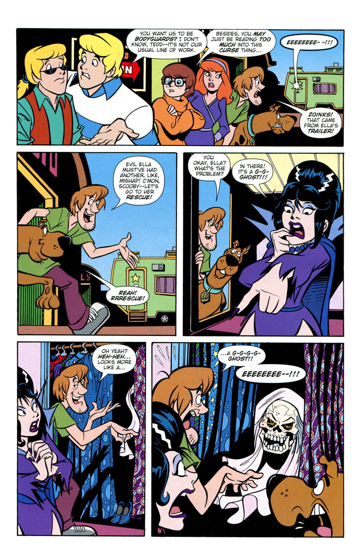Read online Scooby-Doo: Where Are You? comic -  Issue #26 - 21