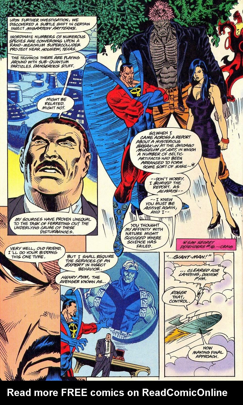 Read online Secret Defenders comic -  Issue #18 - 7
