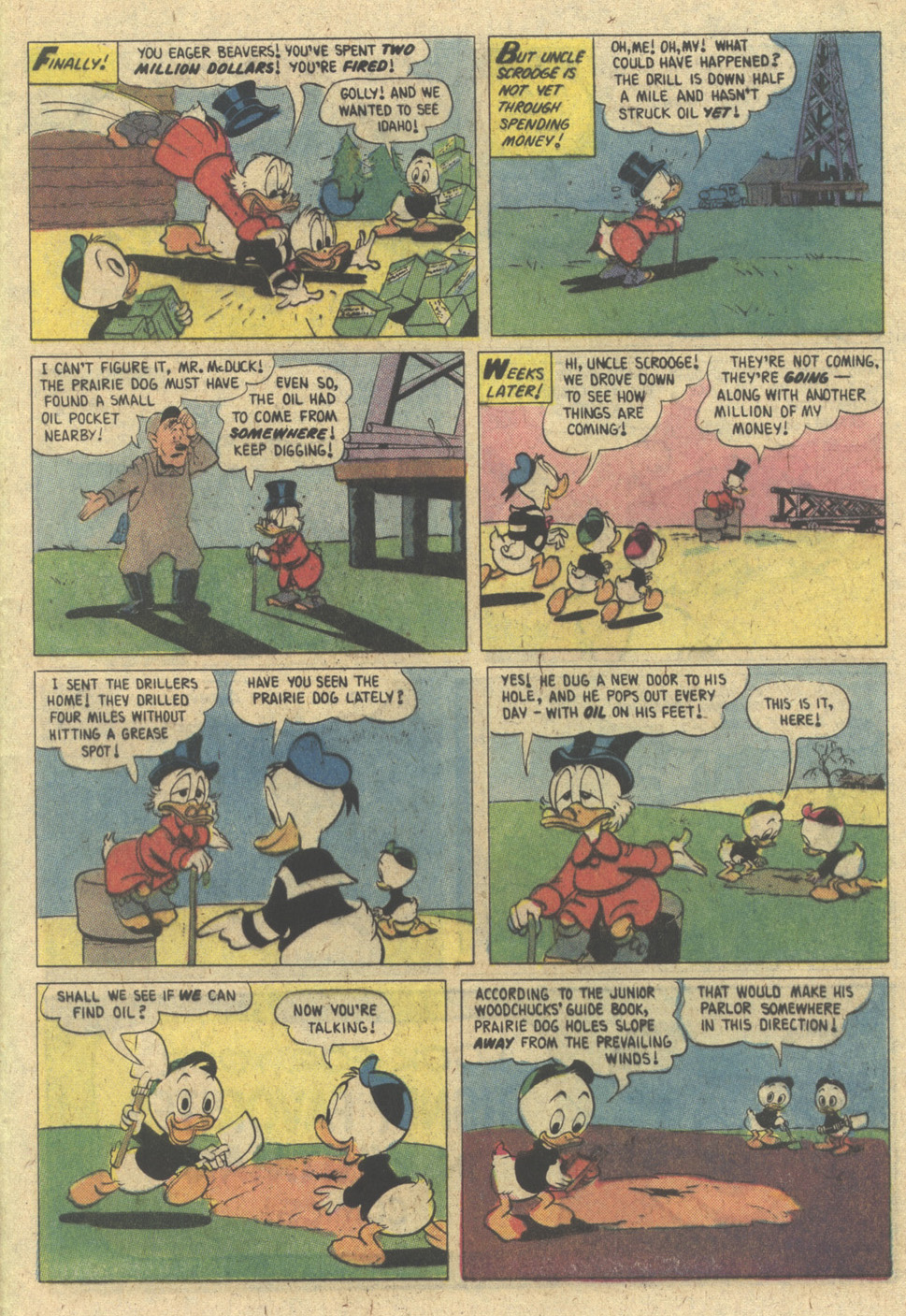 Uncle Scrooge (1953) Issue #188 #188 - English 33